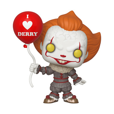Funko Pop IT Chapter 2 Pennywise Clown Horror Balloon 780 Vinyl Toy Figure 40630