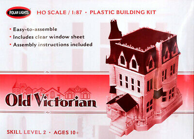 Old Victorian House Haus 1:87 Model Kit Bausatz Polar Lights POL969