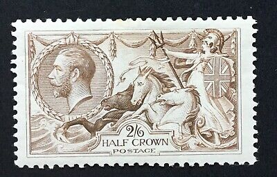 GB George V BW 2/6 Seahorse - Unshaded - M/Mint.  (cat As Cheapest Shade. £160)