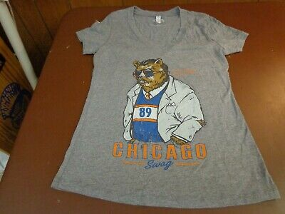 b39dcd96 WOMEN'S NFL CHICAGO Bears Mike Ditka Chicago Swag T-Shirt Size ...