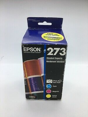 Epson 273 Photo Black Color Ink Combo Pack Genuine New Read 06/2019
