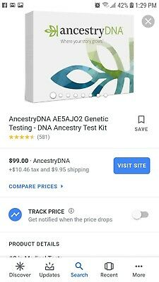 Ancestrydna Genetic Testing DNA Ancestry Test Kit