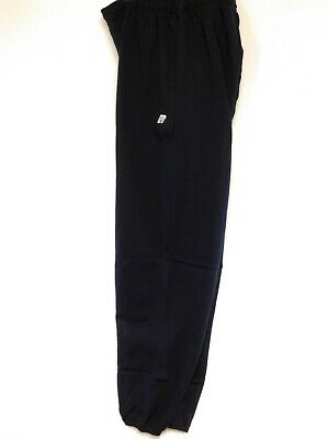 Mens Russell Athletic Navy Blue RFP505NEX Fleece Pro Cotton Joggers Sweat Pants
