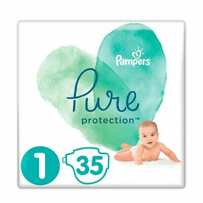Pampers Pure Protection Baby Luiers Maat 1 - 35 luiers