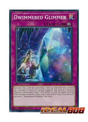 YUGIOH x 3 Dwimmered Glimmer - RIRA-EN079 - Common - 1st Edition Near Mint