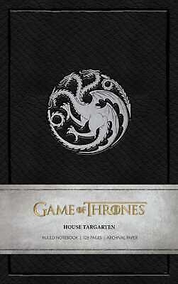 Game of Thrones: House Targaryen Ruled Notebook ' Insight Editions