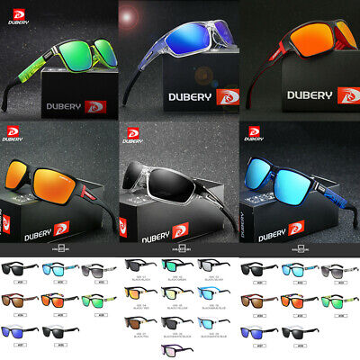 DUBERY Outdoor Men's Summer Polarized Driving Sunglasses Riding Fishing Goggles