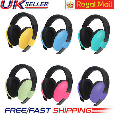 UK Unisex BABY Child Ear Defenders Earmuffs Protection 0-5Yrs Care Ear Muffs