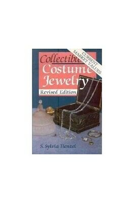 Collectible Costume Jewelry by Henzel, S.Sylvia Paperback Book The Fast Free