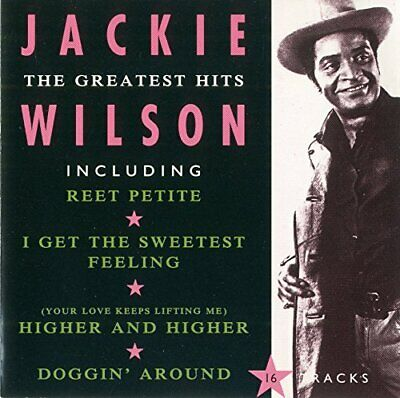 Jackie Wilson - The Greatest Hits - Jackie Wilson CD 4OVG The Fast Free Shipping