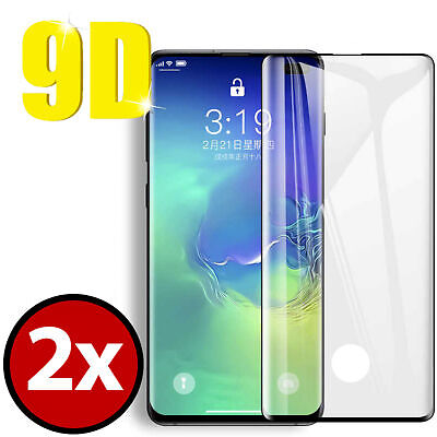 2X Tempered Glass For Samsung Galaxy S8 S9 S9+ Note 8 9 Full Screen Protector CA