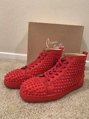 2dfa5901106 CHRISTIAN LOUBOUTIN 42 Mens Shoes US Size 9 Red Bottoms - $400.00 ...