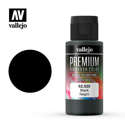 Airbrush Paints - Vallejo Premium Rc Colors - Opaque Grey (60Ml) - 62.019