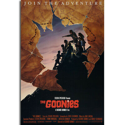G249 The Goonies Classic Movie Art Poster