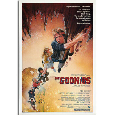G250 The Goonies Classic Movie Art Poster