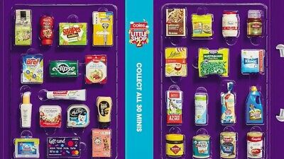 Coles Little Shop 2 Mini Collectables FINISH YOUR COLLECTION L@@K