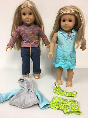 American Girl Kailey And Julie Doll Lot