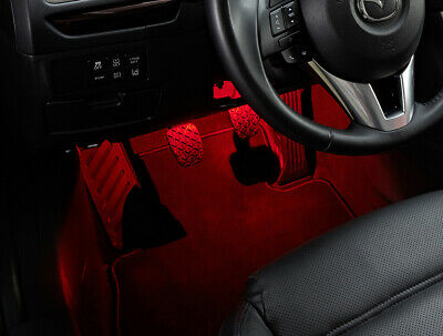 MX5 Red Interior Light Welcome Illumination Kit Mazda MX-5 Mk4 & RF ND 2015>