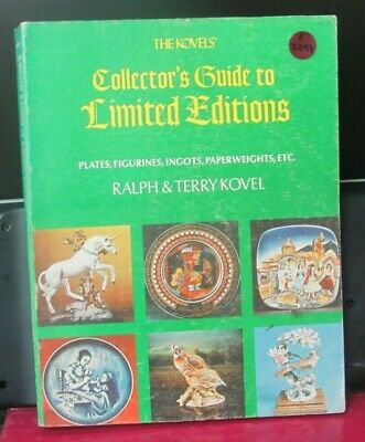 F 2297 OLD PAWN  Collector's Guide to Limited Editions by Ralph&Terry Kovel