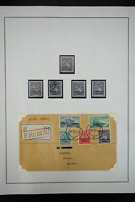India Early Areas Stamp Collection