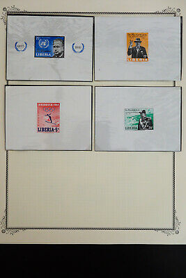 Liberia All Mint 1918 to 1990's Stamp Collection