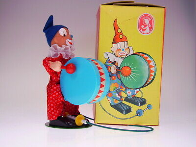 "GSCLOWN GSDDR SONNI ""CLOWN MIT TROMMEL"" 22cm, NEUWERTIG/LIKE NEW/COMME NEUFnBOX"