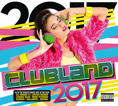 Various Artists : Clubland 2017 CD 2 discs (2016) Expertly Refurbished Product