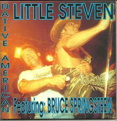 LITTLE STEVEN feat BRUCE SPRINGSTEEN NATIVE AMERICAN rare Winged Wheel cd NY 87