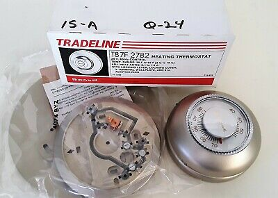 Tradeline T87F-2782 Round Heating/ Cooling Thermostat