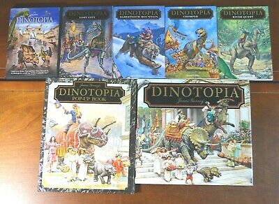 JAMES GURNEY'S FIRST Edition Collectible Dinotopia Pop-Up