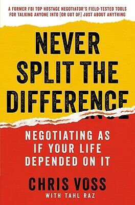 Never Split the Difference by Chris Voss [EßOOK] ✅Fast Delivery✅