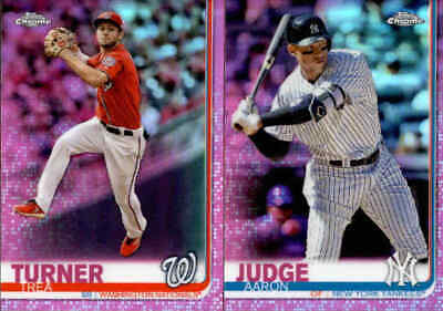 2019 Topps Chrome Pink Refractor w/ Rookie RC - You Pick From A List