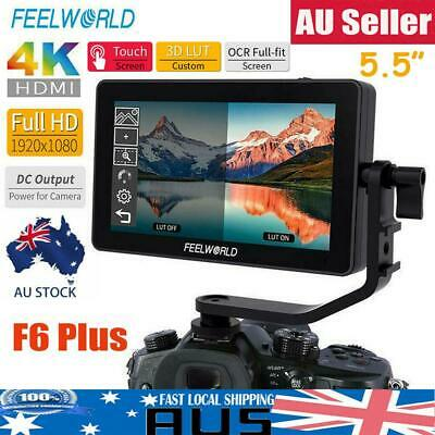 """FEELWORLD F6 PLUS 5.5"""" HD 3D LUT Touch Screen Video DSLR On-camera Field Monitor"""