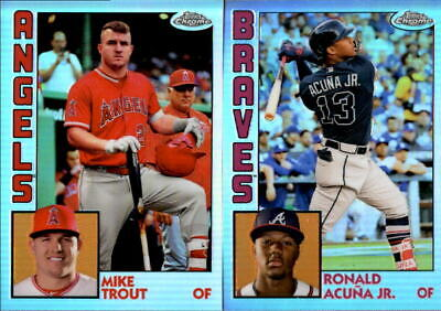 2019 Topps Chrome 1984 Refractor w/ Rookie RC - You Pick From A List