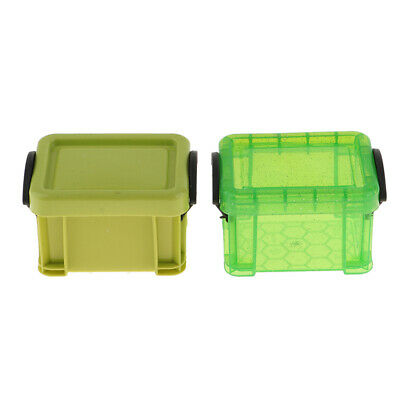 1/6 Candy Color Storage Case for 1/6 Dolls House Furniture Accessories Green