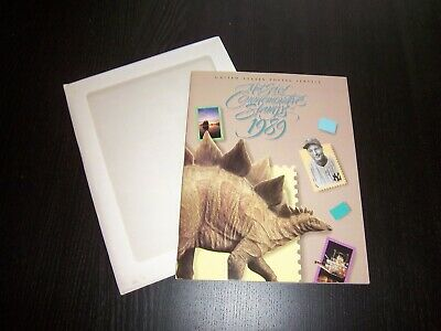 1989 Usps Commemorative Mint Year Set Mnh Stamps In Mounts In Album Complete