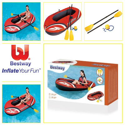 Bestway Inflatable Hydro-Force Wave 77x45 Inch Stand Up Board with Oars and Pump