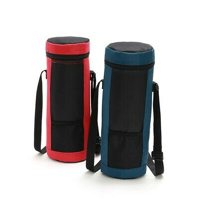 Bottle Insulated Cool Bag With Strap Drinks Wine Picnic Camp Carrier Cooler AU
