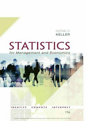 Statistics for management and economics 11th Edition (P D F)🔥Instant Delivery🔥