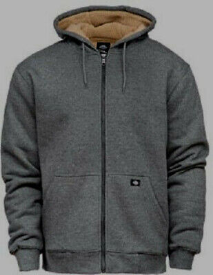 DICKIES FRENCHBURG FLEECE Jacke Zip Hoodie Kapuzenjacke dark