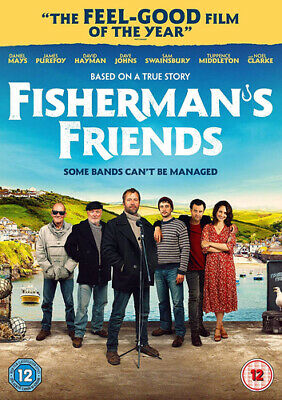 Fisherman's Friends DVD (2019) Daniel Mays, Foggin (DIR) cert 12 ***NEW***