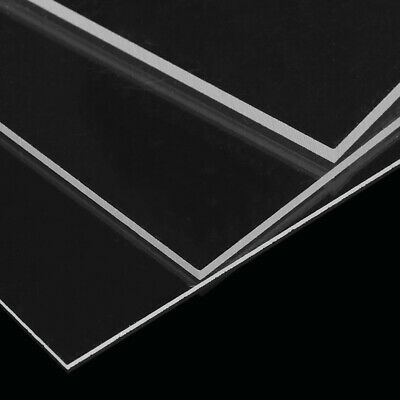 NEW Plastic Clear Sheet Acrylic Board Plexiglass Organic Glass Methacrylate