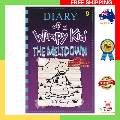 BRAND NEW Diary of a Wimpy Kid 13 The Meltdown Paperback Book FAST AND FREE SHIP