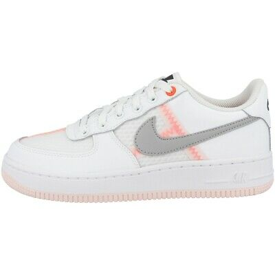 Nike Air Force 1 LV8 1 GS Sneaker weiß rosa AV0743 100