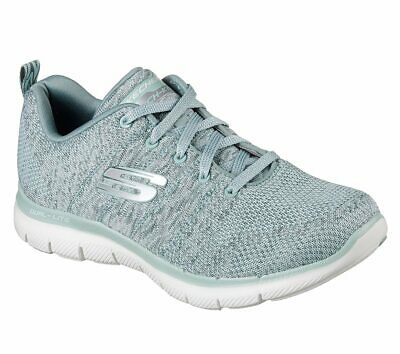 03404429ce411 SKECHERS FLEX APPEAL 2.0 High Energy Lace up Walking Athletic Womens Shoes  12756