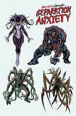 (2019) ABSOLUTE CARNAGE SEPARATION ANXIETY #1 1:10 LEVEL DESIGN Variant Cover!