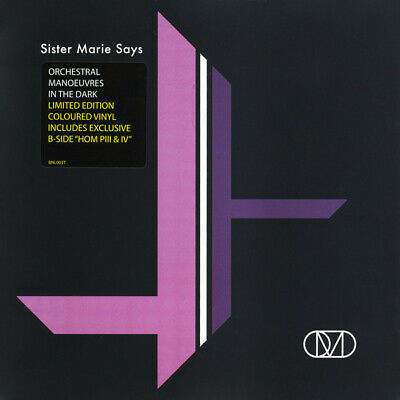 "Orchestral Manoeuvres In The Dark (OMD): Sister Marie Says Lilac Vinyl 7"" Single"