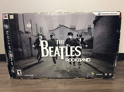 The Beatles: Rock Band Limited Edition Sony PS3 Complete W/Dongles -1962-390-011