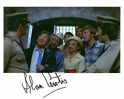 Film Autograph: ALAN CURTIS (Carry On Abroad) Signed Photo