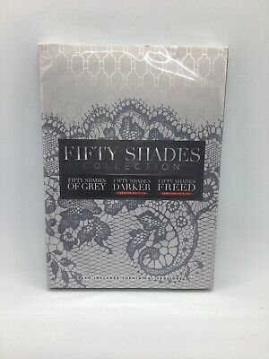 Fifty Shades Collection 3 Movie Collection DVD New